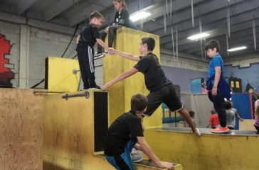 Christopher Torres of Miami Freerunning & Parkour Academy