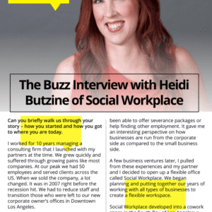 "PDF ""Tear Sheet"" of Your Interview"