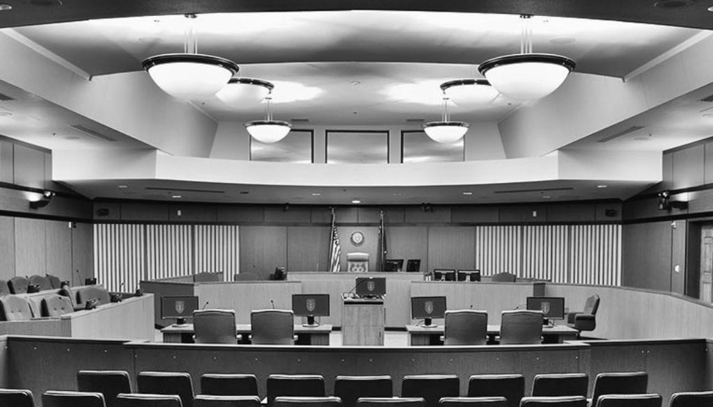 courtroom panel