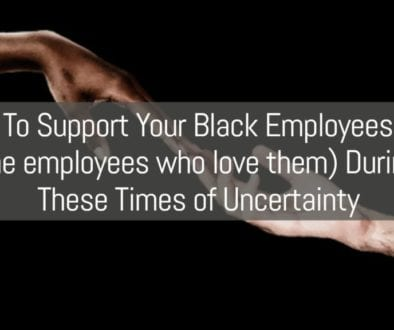Supporting Black Employees Graphic