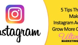 5 Tips That Will Make Your Instagram Account Grow More Quickly