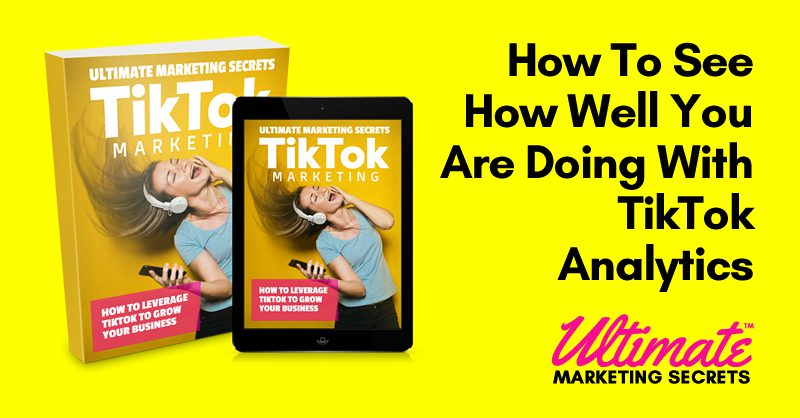 How To See How Well You Are Doing With TikTok Analytics