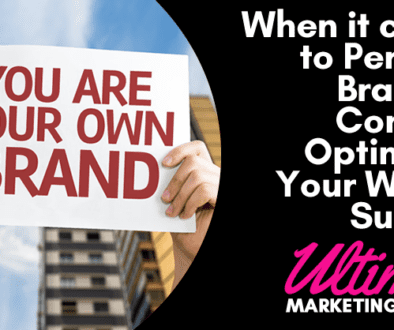 When it comes to Personal Branding Consider Optimizing Your Way To Success